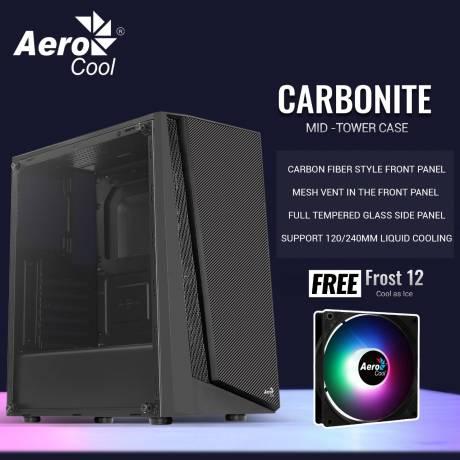 Aerocool CARBONITE [1FAN] ATX