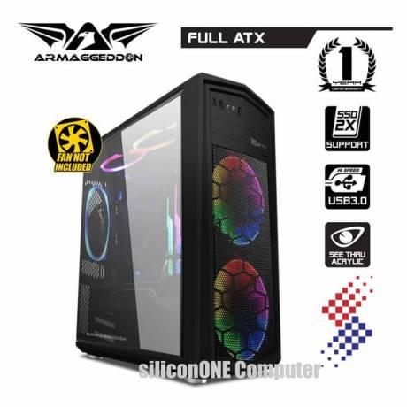 Armaggeddon T5X PRO II [0FAN] Black ODD