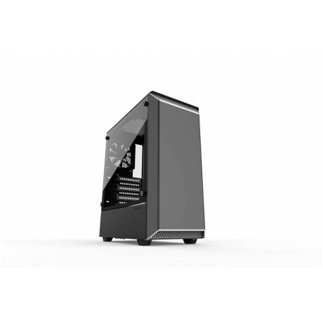 Phanteks Eclipse P300 TG Black White