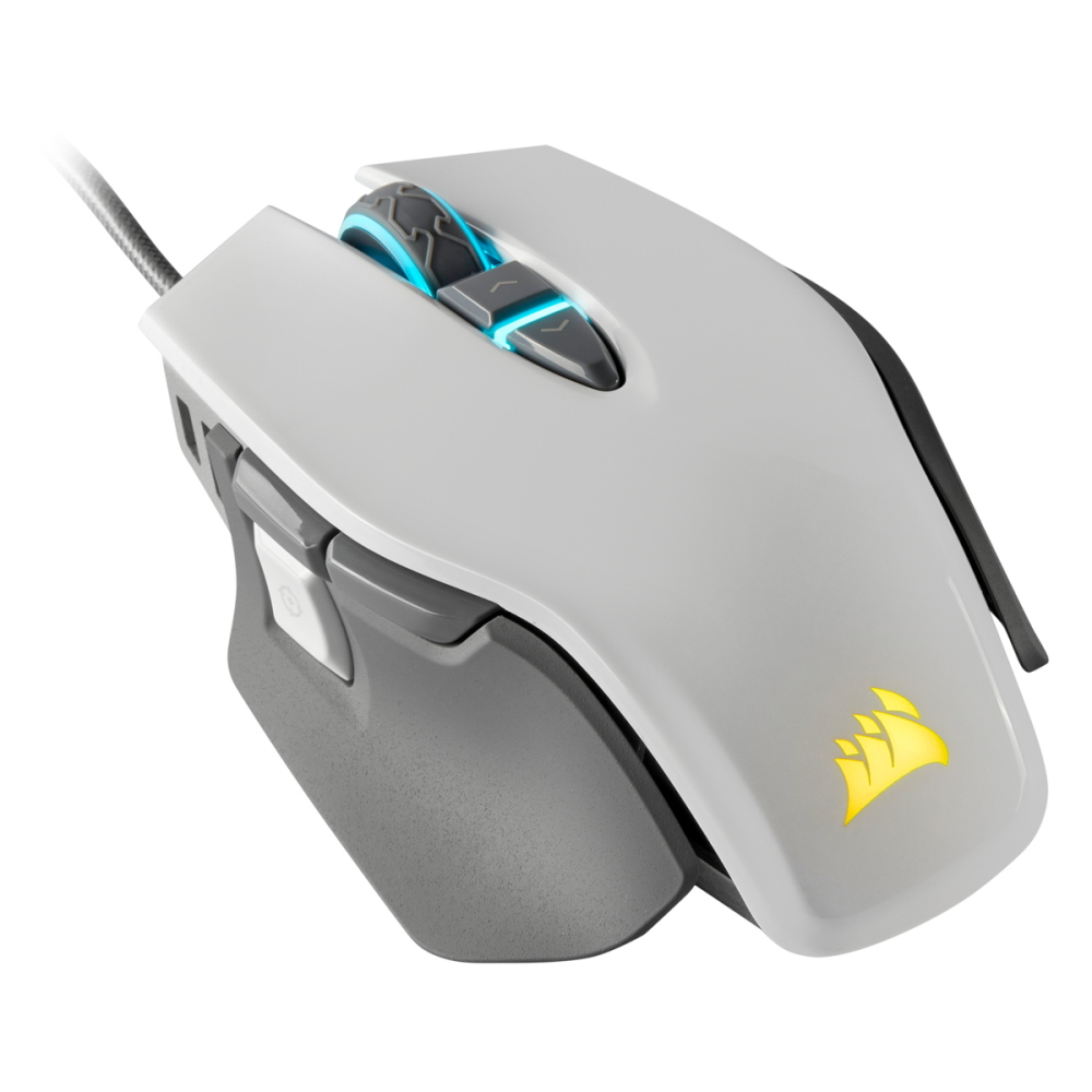 Corsair M65 Elite RGB White Tuneable FPS Gaming